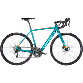 Orbea Gain D40 turquoise/orange